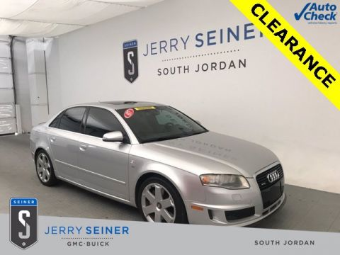 Pre-Owned 2007 Audi S4 4.2 AWD 4dr Car
